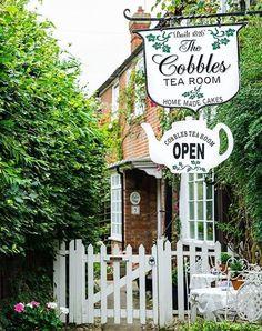 — The Cobbles Tea Room, Rye