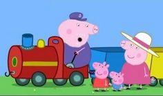 Isäpossu osaa kuljettaa veturia. Kun juna valmistautuu lähtöön, Pipsa Possu, pikkuveli ja äiti kiiruhtavat kyytiin. Junamatka onkin jännittävä kokemus, tämä on Pipsan ensimmäinen matka junan kyydissä.