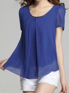 22b3d36473539 Semi-Casual Women s Chiffon Shirt - PREPPY BEE Semi Casual