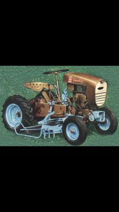 David Bradley Garden Tractor Lawn Tractors, Small Tractors, Old Tractors, Go Kart Plans, Lawn Equipment, Vintage Tractors, Cub Cadet, Outdoor Tools, Small Engine