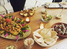 More Lebanese sharing @comptoirlibanai #TasteTheWorld #Kingston