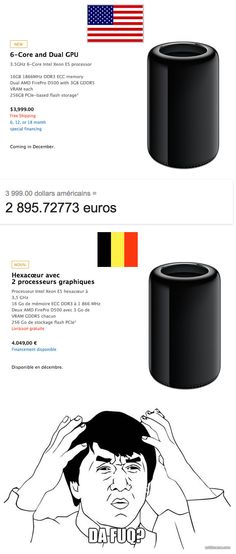 Pourquoi les Macs se vendent moins bien en Belgique qu'aux Etats Unis?