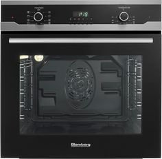 blomberg bwos24202 24 inch single electric wall oven with 23 cu ft true european