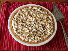 Food Wishes Video Recipes: S'more Ice Cream Pie – Who's Your Daddy's Favorite Celebrity Dessert Chef?