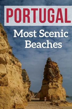Discover some of the best beaches in Portugal from the Algarve and the West Coast. Sea Stack, Golden sand, High cliffs... Photos of the 12 most beautiful Portugal Beaches And a video to trigger your wanderlust! *** Portugal Travel - Portugal Algarve - Portugal Beach - Portugal itinerary
