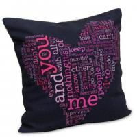 Beautifully Designed Cushion Feel the warmth this winter with this perfectly designed cushion. The 12 Into12 inches super soft cushion is perfect to gift to your loved ones. The creatively designed heart looks makes it even more adorable. Shipping Status - GiftsXpert.in - Product deliver by Courier in 4 to 7 days