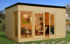 Solveig 13.6sqm log cabin