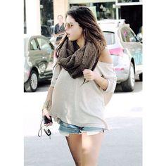 Selena Gomez Pregnant? ❤ liked on Polyvore featuring selena gomez