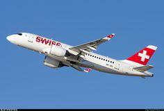 Photo of HB-JBC - Bombardier CSeries CS100  - Swiss