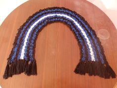 BDSM Pride Flag Crochet Scarf by DigenisFashionShop on Etsy