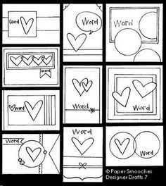Paper Smooches: Designer Drafts 7