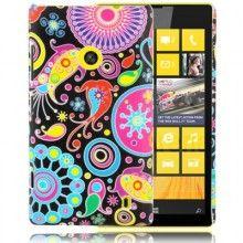 Capa Lumia 520 - Flores 1  R$21,92