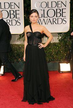 chiffon Dior gown