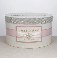 Card box / Wedding Box / Wedding money box  ivory by DiamondDecor, $59.00