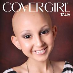 Our favorite COVERGIRL ever? Talia Castellano, the brave teen who has been fighting cancer since 2007 and making amazing makeup tutorials along the way. In loving memory of all that she did, touching people along the way. We Are The World, In This World, 13 Year Old Makeup, Talia, Beauty Youtubers, Childhood Cancer Awareness, Daily Beauty, True Beauty, Real Beauty