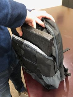Purchase bulletproof backpack panels for additional protection. These B6 panels are capable of stopping AR-15 bullets and fit easily inside bags for safety and convenience.