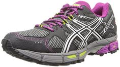 ASICS Womens GELKahana 7 Running ShoeTitaniumLightningPlum65 M US *** Learn more by visiting the image link.