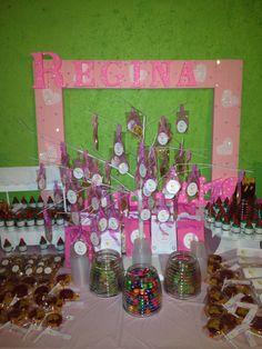 Candy bar bautizo