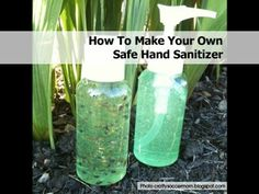 How To Make Your Own Safe Hand Sanitizer - Home Tips World