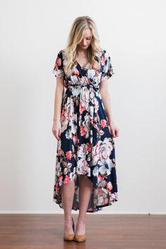 Danielle Hi-Lo Dress