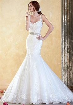 I really like the shape of this dress and the lace and belt. It would be perfect if there was less poof under the skirt