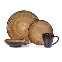 Gourmet Basics Linden 16-piece Dinnerware Set - Overstock™ Shopping - Great Deals on Gourmet Basics by Mikasa Casual Dinnerware