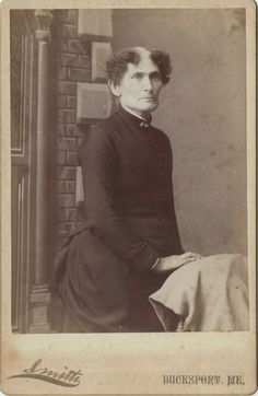 "ca. 1888, handwritten note on the back: ""Aunt Velma, she never married."" Oh, dear."