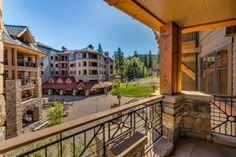 View from Tahoe Mountain Lodging residence at Big Horn Lodge
