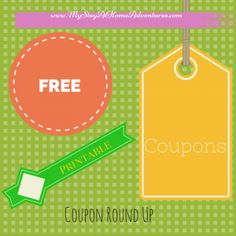 New Coupons Round Up Lists