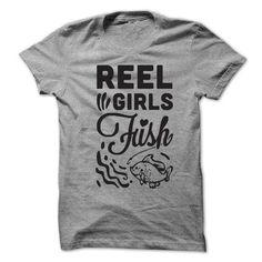 Reel Girls Fish T Shirts, Hoodie Sweatshirts