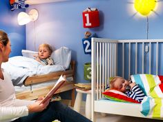 kids bedroom Kids Bedroom Pretty Blue Color Scheme Shared Kids Room