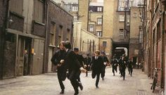 A Hard Day's Night in color