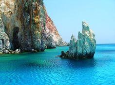Trip from Milos, Kimolos Places Around The World, Around The Worlds, Greek Sea, Places In Greece, Beautiful Places To Travel, Greece Travel, Greek Islands, Wonders Of The World, Tourism