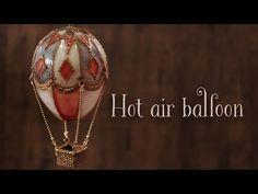 【レジン×樹脂風粘土】アイシングクレイで熱気球のインテリア DIY Hot air balloon interior [Resin×Clay] - YouTube