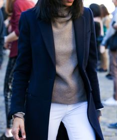 classics - white jeans for Fall/Winter