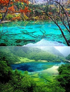 Five-Flower Lake, China
