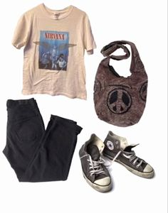 Teen Fashion Outfits, Retro Outfits, Grunge Outfits, Vintage Outfits, Swaggy Outfits, Cute Casual Outfits, Mein Style, Oui Oui, Alternative Outfits