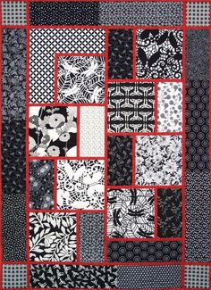 block quilt patterns - Google Search  I am in the process of making this, almost done . Very easy to do.