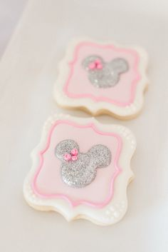 Cookies from an Elegant Minnie Mouse Boutique Birthday Party via Kara's Party Ideas! KarasPartyIdeas.com (30)