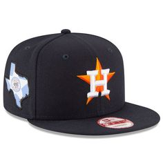 Houston Astros New Era State Stare Original Fit 9FIFTY Snapback Adjustable  Hat… Astros Cap 45b489e04915