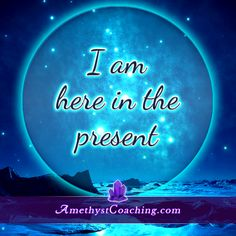 Today's Centering Thought: I AM Here in the Present Visit us www.amethystcoaching.com Personal Coaching Site #affirmation #coaching Like Us on Facebook https://www.facebook.com/amethystcoaching?ref=hl