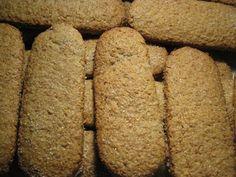 A Tavola con Mammazan: Biscotti rustici alla farina d'avena e crusca