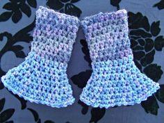Gypsy Spirit Crocheted Wrist Warmers | Gypsy_Spirit_Threadworks - Accessories on ArtFire