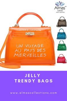 New Jelly Transparent Women Luxury Messenger Handbag Modern Hippie, Boho Accessories, Boho Bags, Fashion Tips For Women, Fashion Ideas, Women Bags, Trendy Colors, Boho Outfits, Getting Old