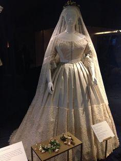 Wedding Dresses 1 width= Vintage Queen Victoria's wedding dress 1840