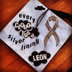 Stay positive! #Graduation Cap