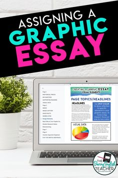 An alternative to the essay: The graphic essay. Assigning a Graphic Essay: A Visual Essay Project Writing Lesson Plans, Writing Lessons, Teaching Writing, Teaching Strategies, Teaching English, College Teaching, Math Lessons, Middle School Writing, Middle School Classroom