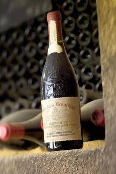 """Chateau de Beaucastel Chateauneuf-du-Pape 2010 """"This is a gorgeous wine, a classic blend of 30% Grenache, 30% Mourvedre, 10% Syrah, 10% Counoise and the balance the other permitted varietals in the appellation."""" 95 WA"""