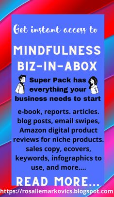 This PLR pack has all you need to start a Mindfulness business. A done-for-you business. This highly sought after niche has many sub-niches that are related and easy to branch out into, as well. Read more on this post. #mindfulness #gratitude #wellness #happiness #mindset #yoga #meditation #mindfulessbusiness #mindfulnessplr #holisticliving Make Blog, How To Start A Blog, Social Disorders, Habits Of Mind, Affiliate Marketing, Online Marketing, Successful Relationships, Marketing Tools, Yoga Meditation