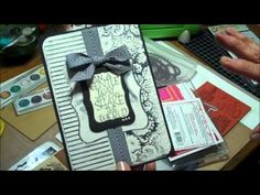 ▶ Simply Simple FLASH CARD - Circle Locking Card by Connie Stewart - YouTube